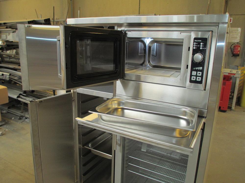 Mobilier dans la cuisine csd inox for Cuisine ds